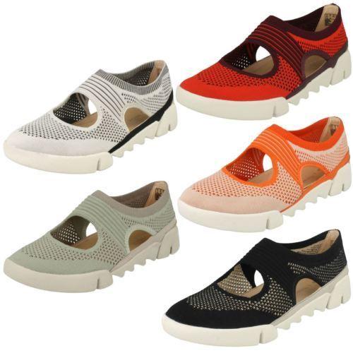 De Diario Zapatos Tri ' Mujer Botones' Clarks gwEqxOfE