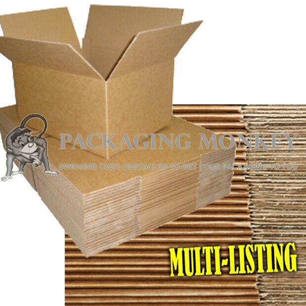 QUALITY SINGLE WALL POSTAL MAILING CARDBOARD BOXES