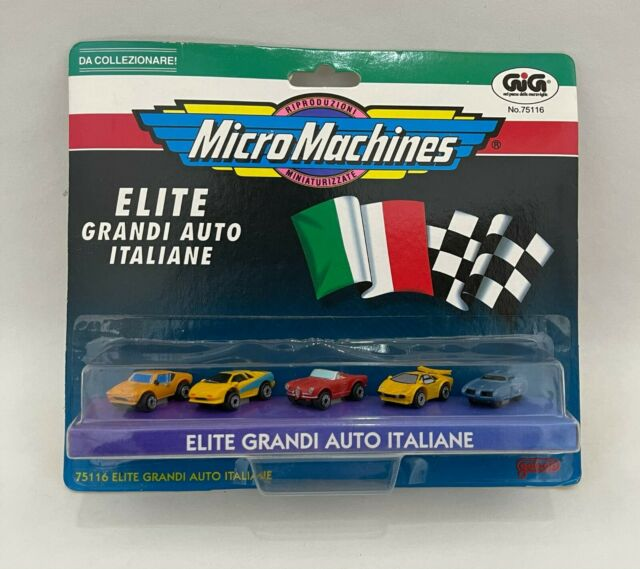 Micro Machines ELITE GRANDI AUTO ITALIANE ferrari lamborghini alfa bat de tomaso