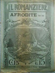 IL-ROMANZIERE-AFRODITE-DI-PIERRE-LOUYS-CASA-EDITRICE-NOBILE-NAPOLI-1911