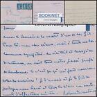 LETTRE AUTOGRAPHE SIGNEE DE ROBERT DIEUDONNE (JOURNALISTE) A JACQUES MORTANE