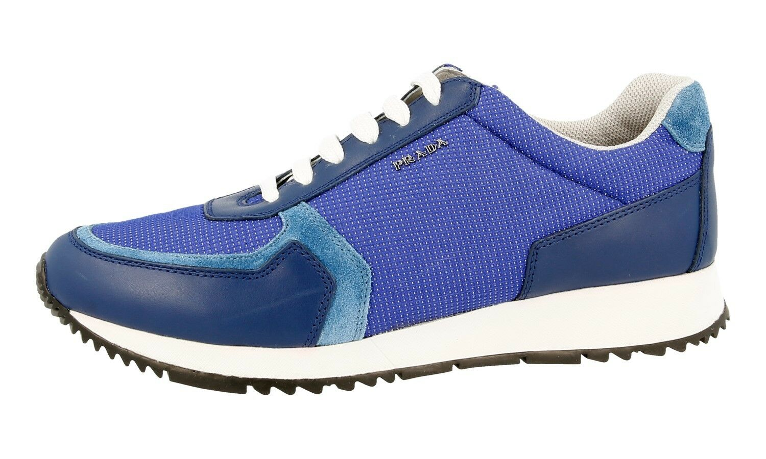 AUTHENTIC LUXURY LUXURY LUXURY PRADA SNEAKERS SHOES 3E6183 ROYAL NEW 41 41,5 UK 8 70f8ce