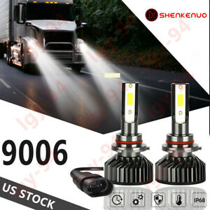 LOW 4 side LED Headlight Bulb For International Truck Pro Star Prostar 2008-17