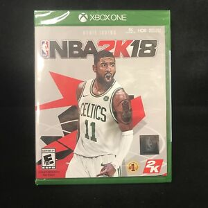 half off 8b45f 09940 Details about NBA 2K18 Celtics Cover (Xbox One) BRAND NEW