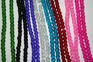 225-Pieces-4mm-Glass-Beads-Colour-Choice