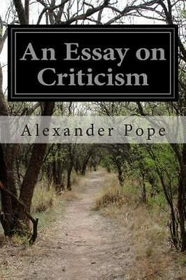 Pope essay on criticism