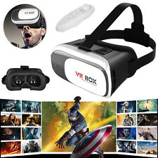 3D VR Virtual Reality Headset 3D Glasses Box Movies And Games For iPhone 6