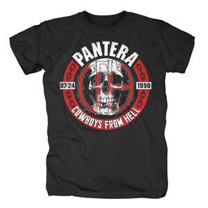 Skull Circle Cowboys From Hell T-shirt T-shirts Sammlung Hier Pantera