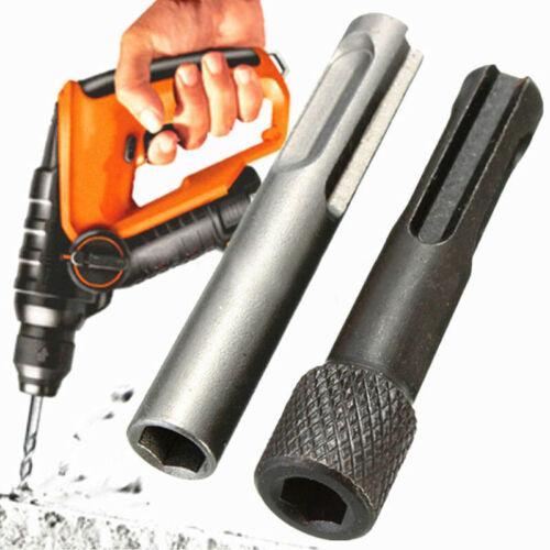 """Coupe SDS Plus pour 1//4/"""" hex socket driver marteau perceuse adaptateur magnétique bar kit"""