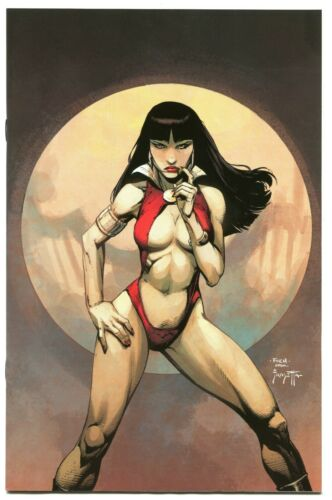 Vampirella #1 DAVID FINCH Frank Frazetta Swipe MEGA EXCLUSIVE