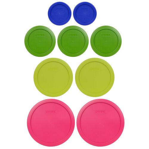 7402 Fuchsia 7C 7201 Edamame Green 4C 7200 Green 2C Pyrex 7202 Cadet Blue 1C