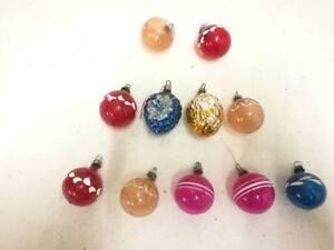 Vintage Christmas Decorations 1950s.Details About Vintage Christmas Decorations X 11 Pretty Glass 1950 S 1960 S Gorgeous