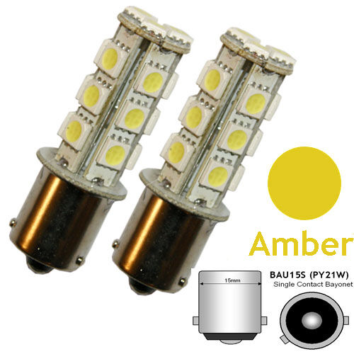 18 SMD LED Indicator Bulbs fit VW TRANSPORTER T2 T4 T5