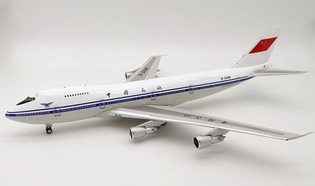 Inflight 200 SI 742 CAAC 01 1 200 CAAC Boeing 747-200 B-2448 avec support