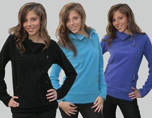 """Ragwear Sweat Jacke """"Bat Fleece"""", schwarz, blau, lila, Größen: XS - XL"""