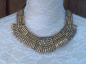 Necklace Gold Coiour Indian Style Necklace Costume Jewellery Unworn Necklace - Lowestoft, United Kingdom - Necklace Gold Coiour Indian Style Necklace Costume Jewellery Unworn Necklace - Lowestoft, United Kingdom
