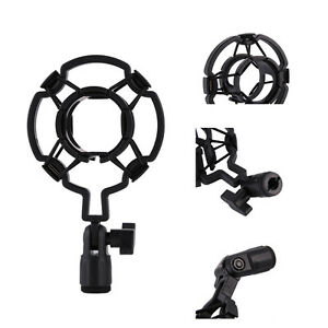 Universal-Studio-Sound-Recording-Microphone-Mic-Shock-Mount-Clip-Clamp-Holder