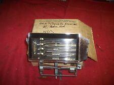 1966 1967 Chevelle Super Sport Malibu El Camino NOS A / C Heater Controls in Box