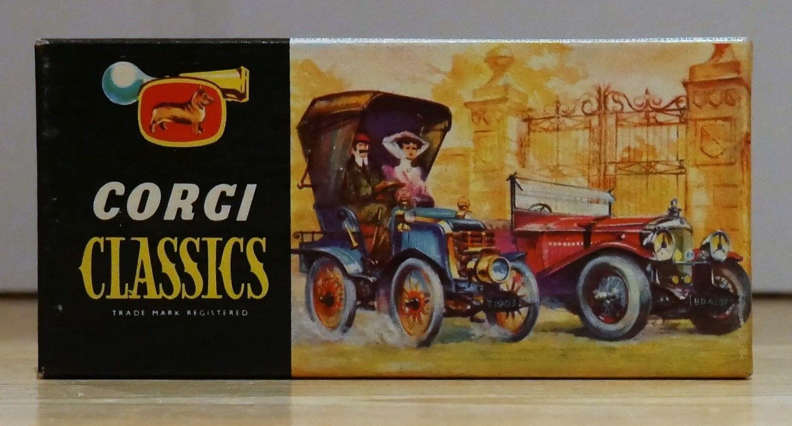 Corgi Classics 9032 1910 Renault 12 16 in Primpink Yellow - Mint in Box