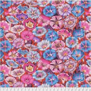PWPJ054 RED 100/% Cotton Quilting Fabrics 1//2 Yard Kaffe Fassett Cactus Dahlia