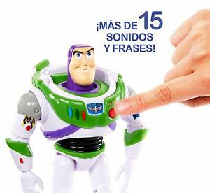 Details About Mattel Disney Toy Story 4 Figura With Voices And Sounds Buzz Lightyear Toy New