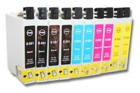 10x Cartouche Encre D'imprimante Compatible Pour Epson Dx4200 Dx4250 4250