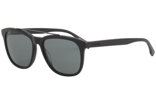 d95fd0d29233 Lacoste Men s L822S L 822 S 001 Black Fashion Square Sunglasses 55mm