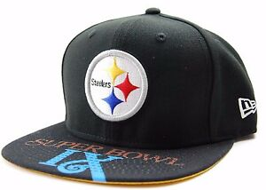purchase cheap 99c0e a68de Image is loading Pittsburgh-Steelers-New-Era-9Fifty-NFL-Football-Team-