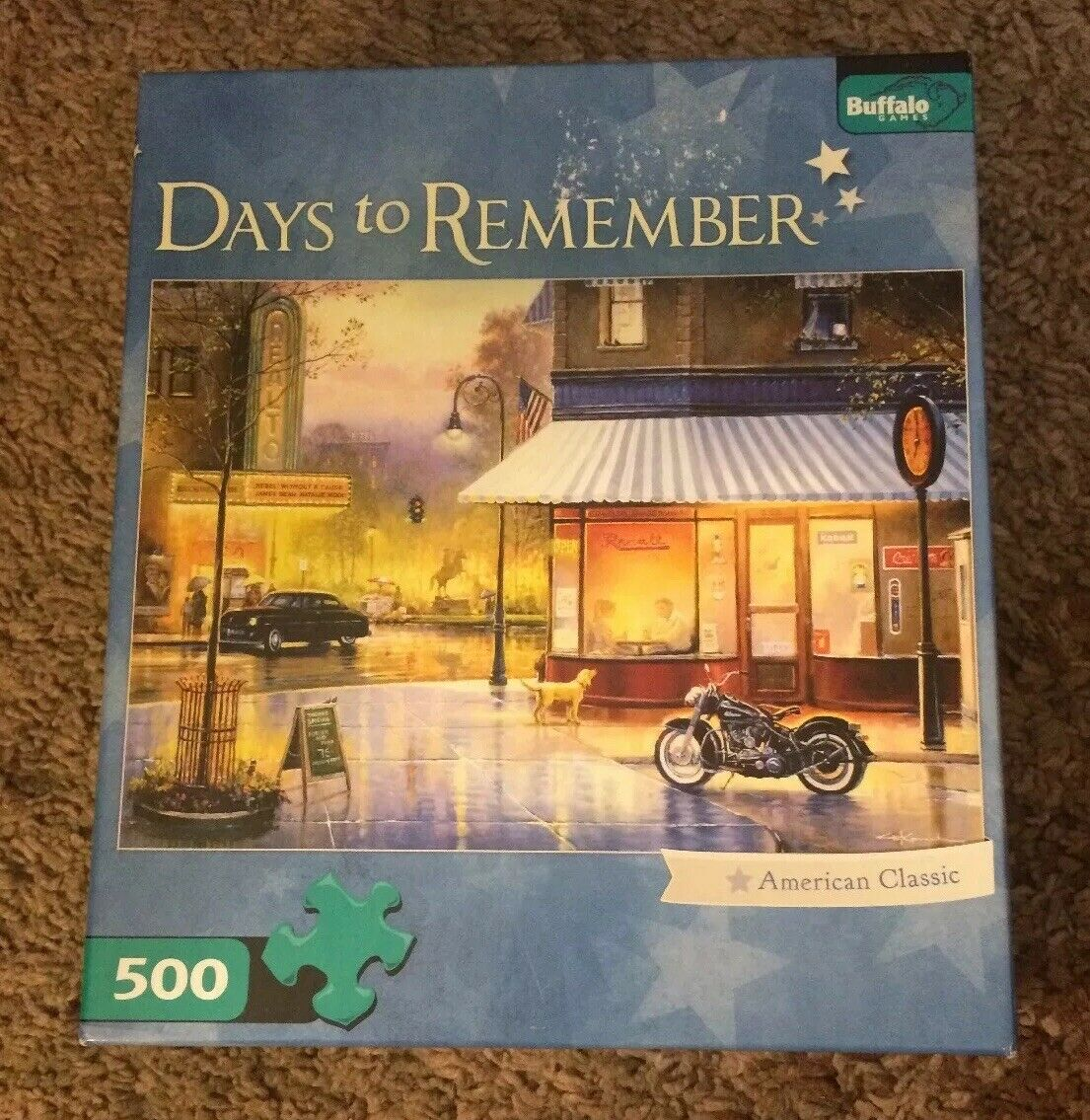 Buffalo Games 500 Piece Puzzle Days To Remember American Classic