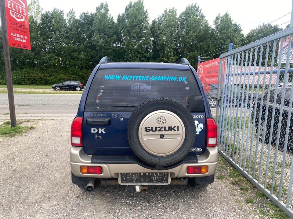 Suzuki Grand Vitara 2,0 TD Van Diesel modelår 2002 km 423000