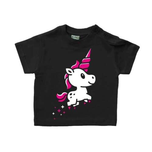 Baby Kinder T-Shirt Kleines Einhorn Geschenk Geburtstag Unicorn Größe 62-104