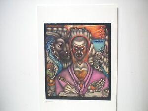 Retro-1980s-Vali-Myers-Swiss-print-named-Golden-Toad-Bohemian-artist