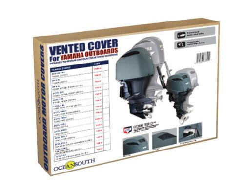 "Oceansouth Abdeckung /""Vented Cover/"" für Yamaha Außenborder F25D 2CYL 432cc"