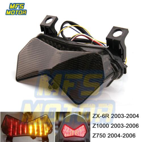 LED Tail Light for Kawasaki Ninja ZX-6R 636 ZX-6RR ZX600 Z750 Z1000//ZR1000 03-06