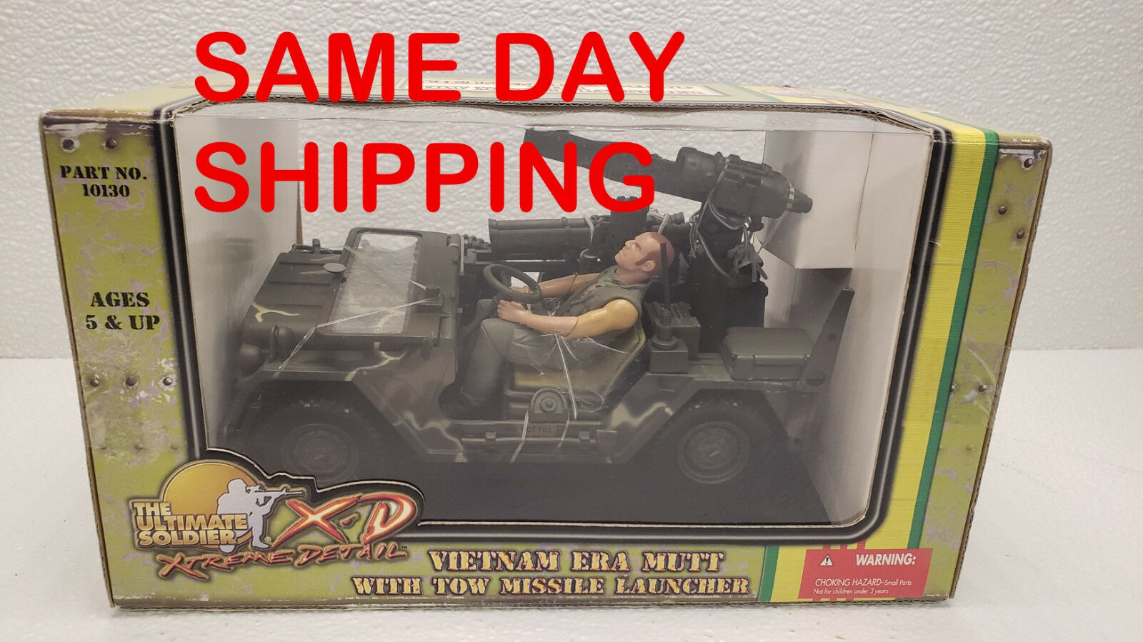ULTIMATE SOLDIER VIETNAM ERA MUTT WITH TOW MISSILE LAUNCHER ITEM 800011-R2