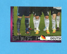 PANINI-EURO 2012-Figurina n.227- SQUADRA/TEAM 3/4 - GERMANIA -NEW-DARK BOARD