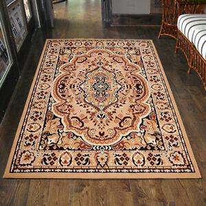 Das Bild Wird Geladen Teppich  Orient Perser Orientalisch In Beige Laeufer XXL