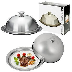 Cloche-alimentaire-en-acier-inoxydable-couvrir-dome-plat-de-service-plat-plateau-Diner-de-salle-a