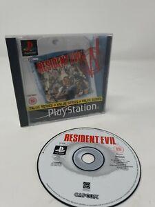 Resident-Evil-Playstation-ps1-Spiel-Getestet-und-funktioniert-PAL-kein-Handbuch