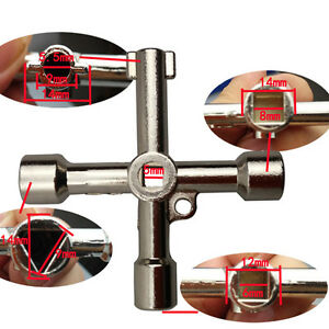 Switch-Cross-Cabinet-Key-Wrench-Batch-Head-Set-Swivel-Universal-Control-Tools-ZX