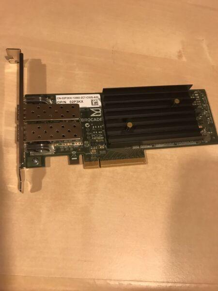 2p3kx Dell Brocade 1020 Dual-port Adapater Card Fcoe