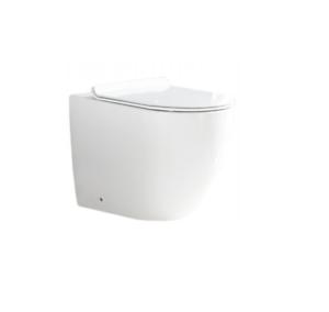 WC Toilette Randloss Softclose KERAMIK STAND 56x41x37 CM CARLO WEISS REA