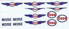 decals pour Dinky: Ford - Studebaker: Esso, Nestlé
