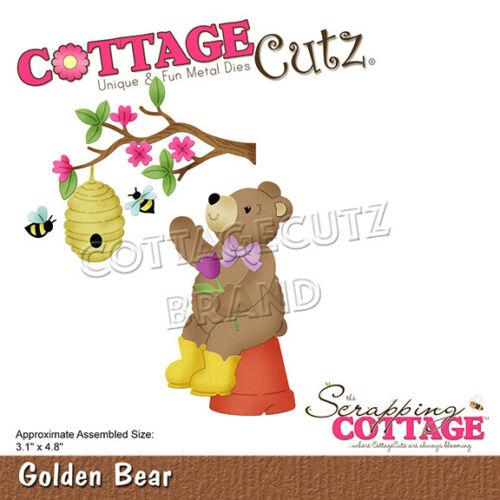 Nouveau Scrapping cottage cutz Métal Découpe Golden Bear CC-739