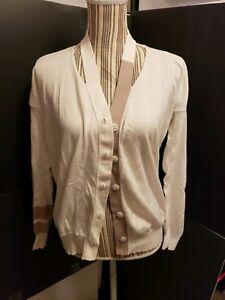 cashmere Chyll Cotton Nwt stile 280 Collana B Cardigan Asimmetrico in estirpato U8xU1R