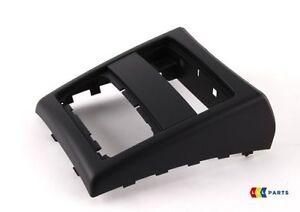 Bmw new genuine 3 series e90 e91 05 12 rear center console black cover 7145681 ebay - Console centrale bmw e46 ...