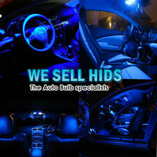 BLUE 19Pc BMW LED SMD INTERIOR LIGHT KIT X5 X6 E70 E71 PUDDLE FOOTWELL ROOF ect