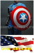 1/6 Captain America Shield 2.0 Metal material buckle Hand for Hot Toys USA