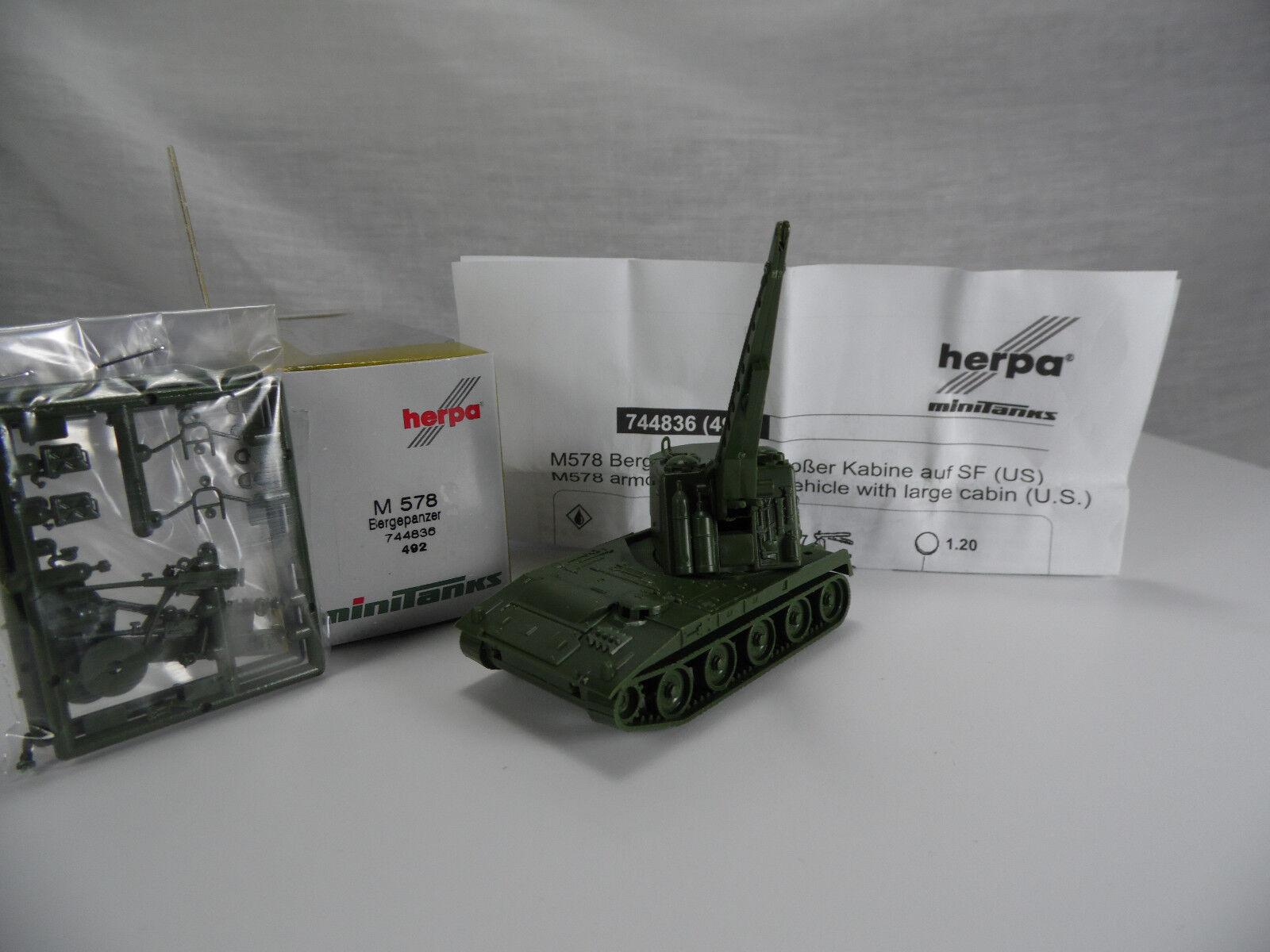 Ht207, Ht207, Ht207, roco   herpa 744836 m578 erholung tank bergepanzer   minitanks   f  r 70853c