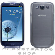 COVER CASE RIGID TRANSPARENT SAMSUNG GALAXY S3 i9300 HARD S III GALAXI CASE